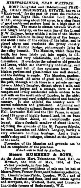 Herts Advertiser - 24 May 1884 - BNA