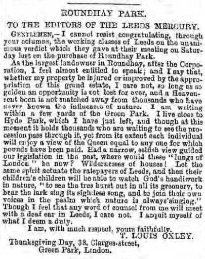 Leeds Mercury - 29 Feb 1872 - BNA