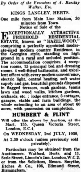 Uxbridge & West Drayton Gazette - 13 June 1930 - BNA