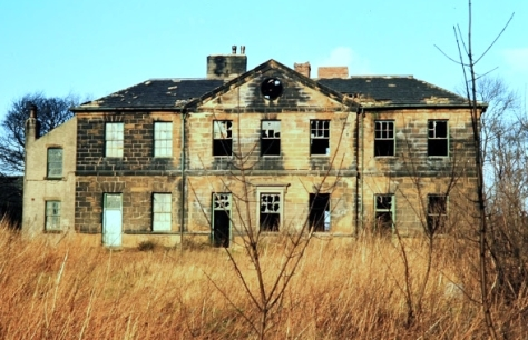 Ackton Hall before demolition - Featherstone in Pictures
