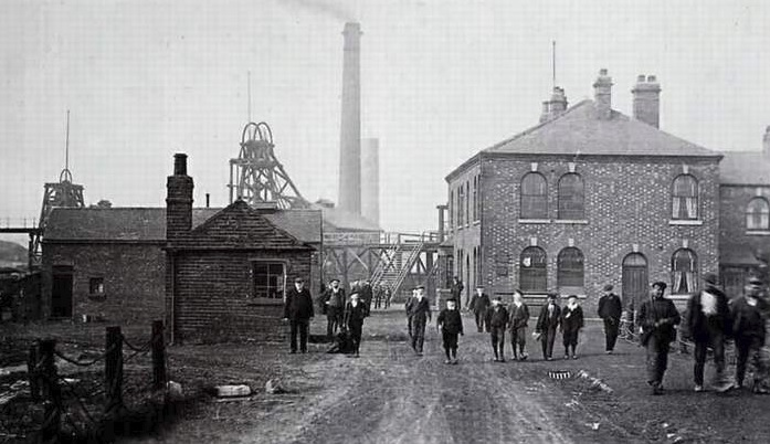 Ackton Hall Colliery - Author Unknown