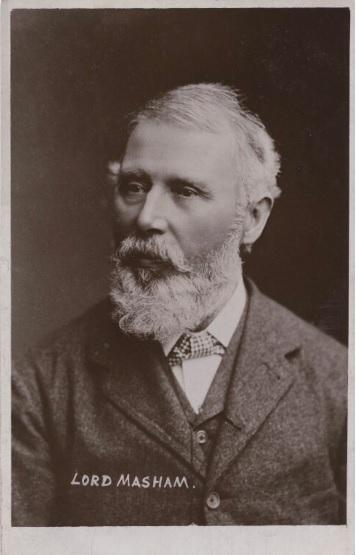 Samuel Cunliffe Lister - Lord Masham - NPG