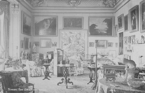 Tehidy - Drawing Room - Lost Heritage (6)