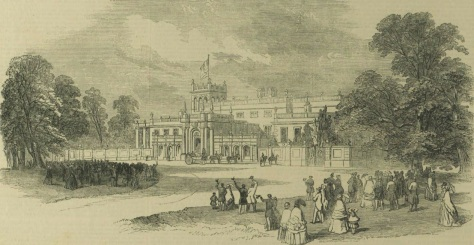 Shrubland Hall - The Illustrated London News - Sat 12 Jul 1851 - BNA (1)