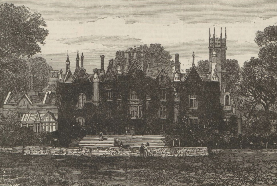 Singleton Abbey - The Penny Illustrated Paper - June 11 1887 - BNA